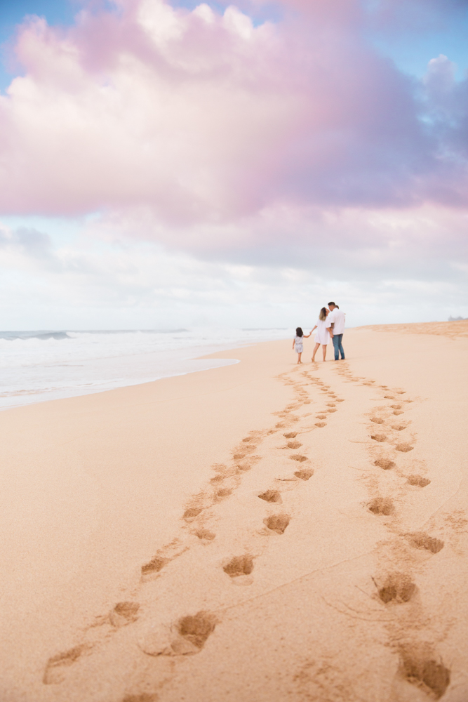 Family Photography beach steps