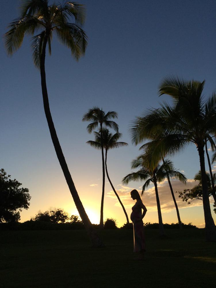 Sunset Maternity Photography